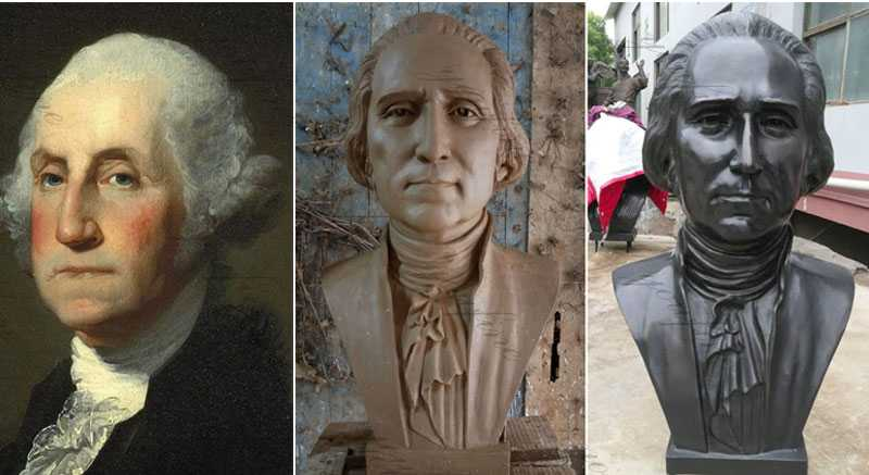 famous bust for sale George Washington Bust Statue Replica