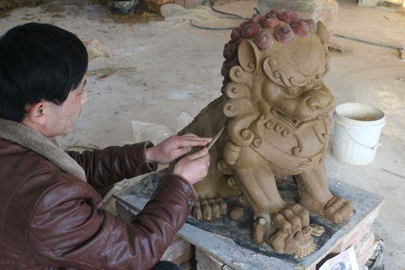 foo dog statues for garden
