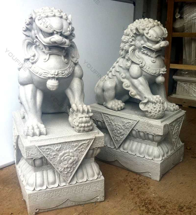 guardian lion statue foo dog statues for garden for sale