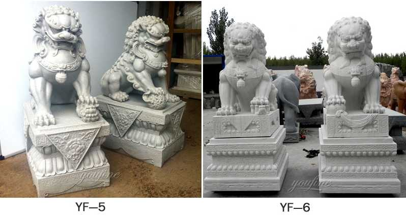life size chinese foo dog garden ornaments
