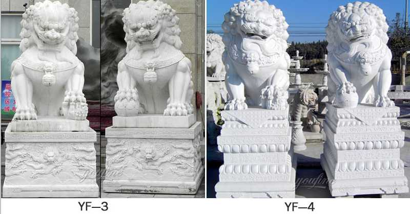 life size chinese guardian lions for sale
