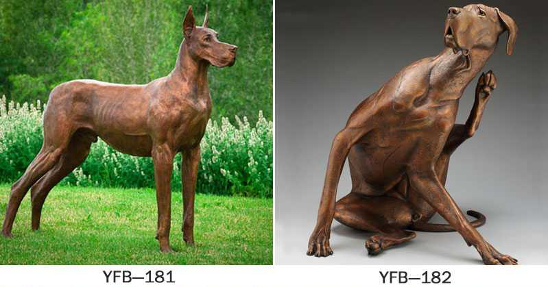 custom made dog statues for home
