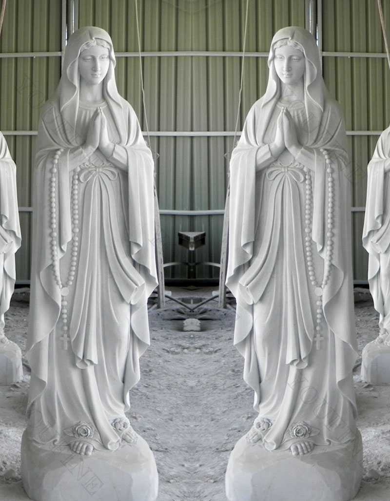 religious blessed our lady of lourdes statue for sale