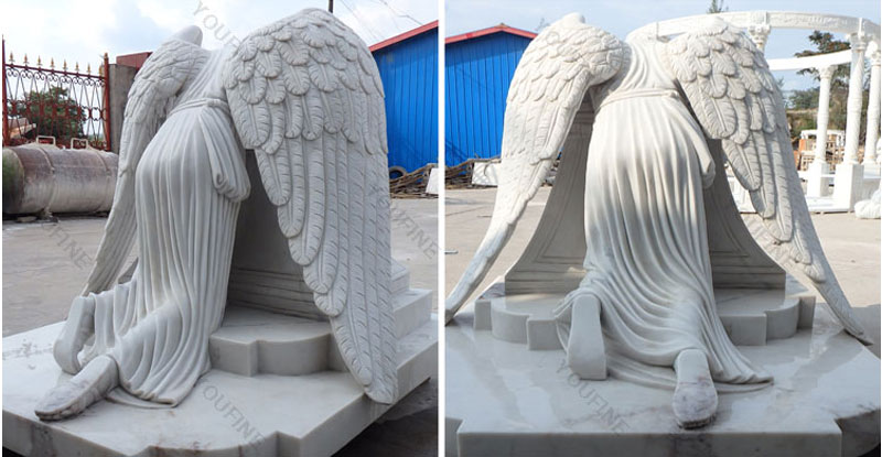 weeping angel monument headstone