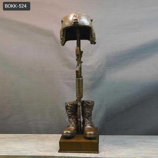 Famous Bronze Army Soldier Garden Statue Fallen Soldier Garden Statue Soldier Memorial Statues for Sale BOKK-524