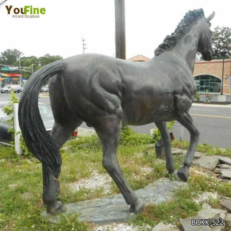 Bronze Horse Garden Ornament Life Size Bronze Horse Statue Design
