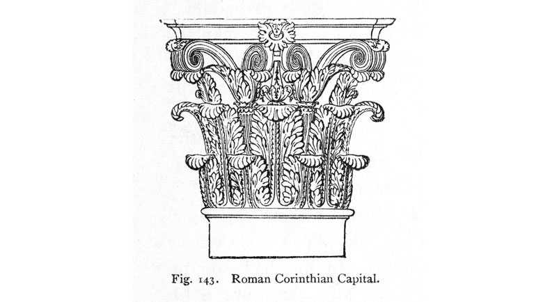 Corinthian order columns for sale