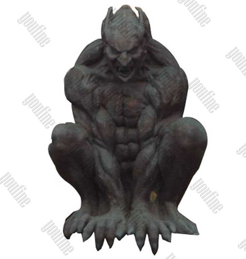Famous Antique Garden Bronze Gargoyles Design for Roof