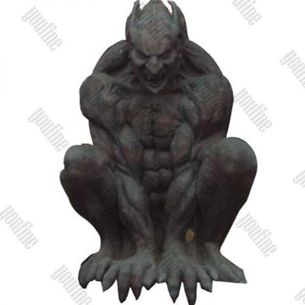 Famous Winged Large Antique Garden Bronze Gargoyles Statue