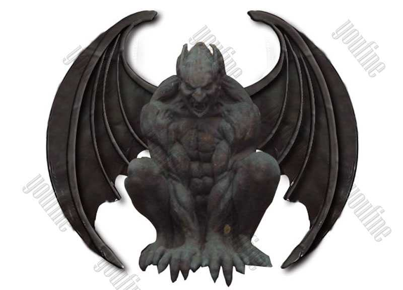 Famous Antique Garden Bronze Gargoyles Design for Roof Decor for Sale