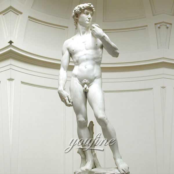 Famous art sculptures in the world life size Michelangelo Sculptures David