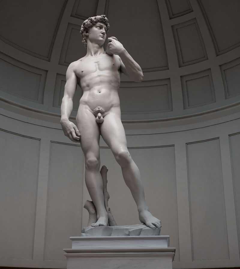 Famous art sculptures in the world life size Michelangelo Sculptures David replica