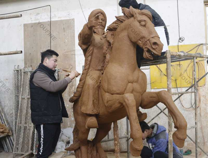 Horse-clay-model-masters