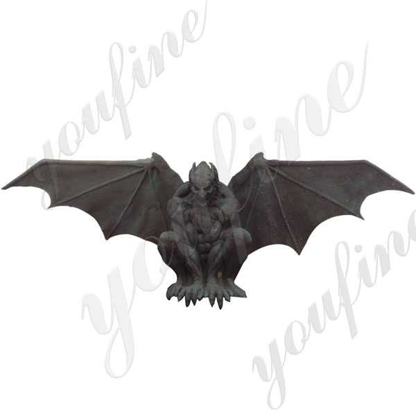 Large Antique Garden Bronze Gargoyles Design for Roof Decor for Sale
