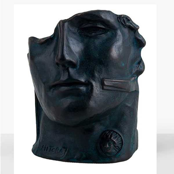 Large Bronze Hollow Head Statue Igor Mitoraj Replica for Outdoor Decoration for Sale BOKK-568