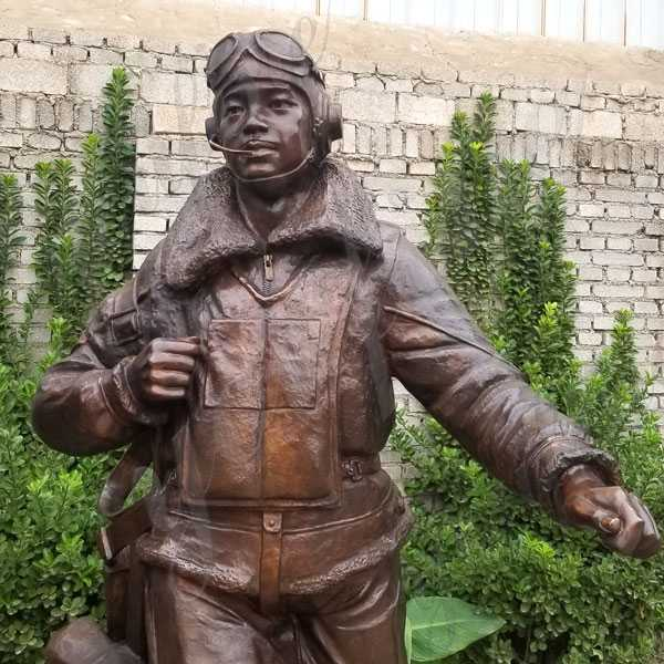 Life Size Custom Made Madetuskegee Airmen Statue Monument Replica for sale