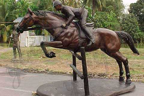 Life Size garden-Bronze-Ridding Horse-Statues for-sale