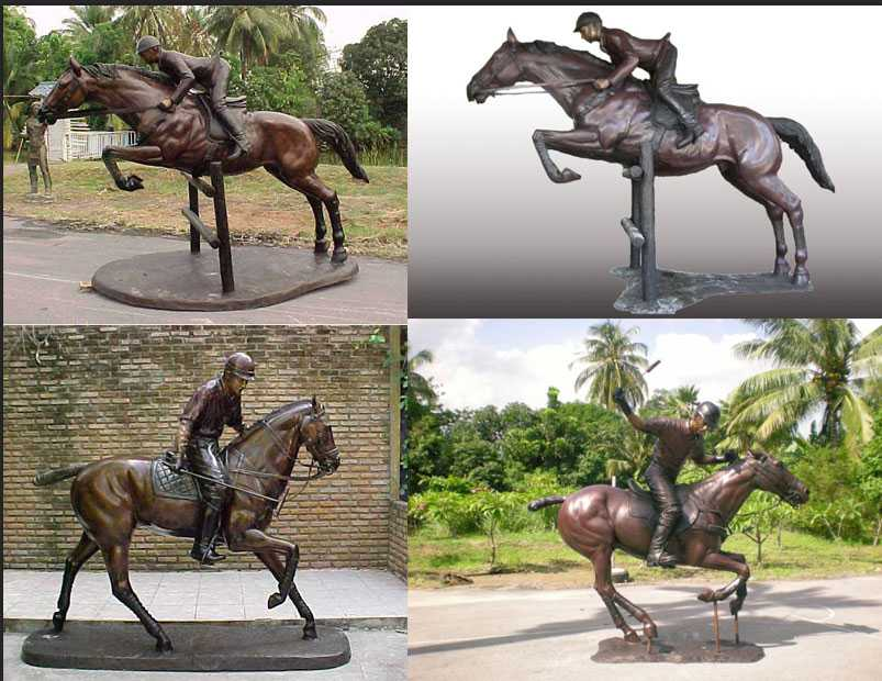 Life-Size-garden-Bronze-Ridding-Horse-Statues-for-sale