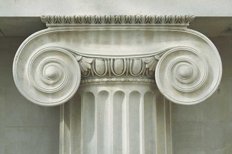 ancient Ionic order column for sale