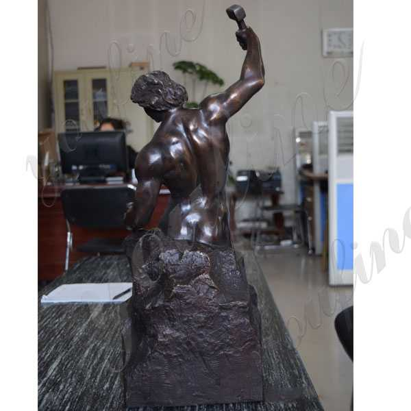 bronze bobbie carlyle self made man replica for sale