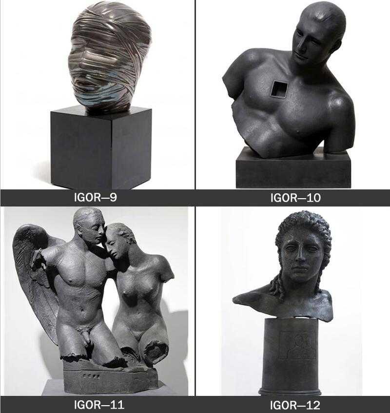 famous hollow head sculpture igor mitoraj sculpture for sale