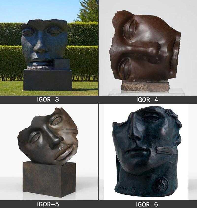 famous artist igor mitoraj replica garden sculpture for sale