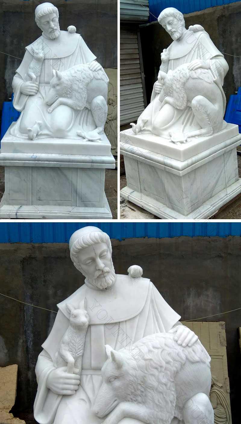 large st francis garden statue design for sale