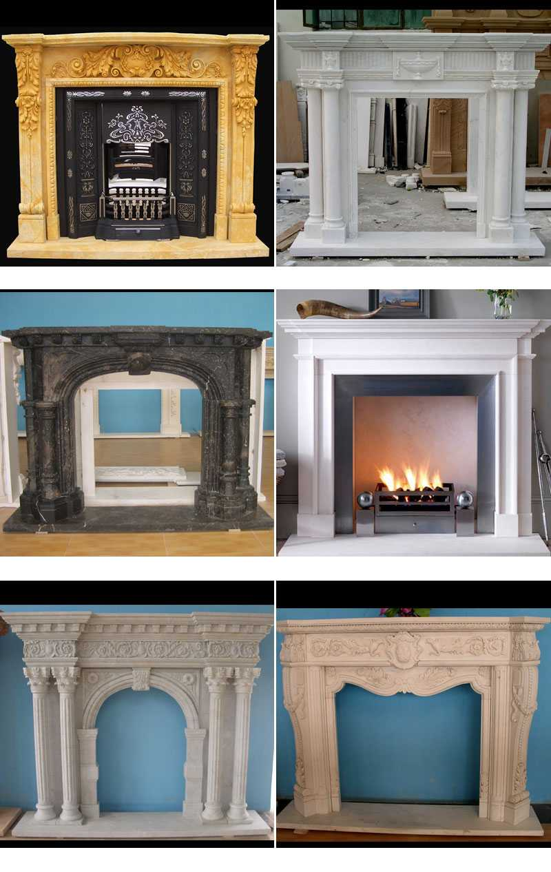 marble fireplace design natural stone fireplace surrounds