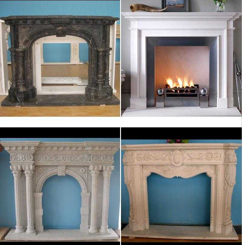 marble fireplace designs modern mantel decor for sale