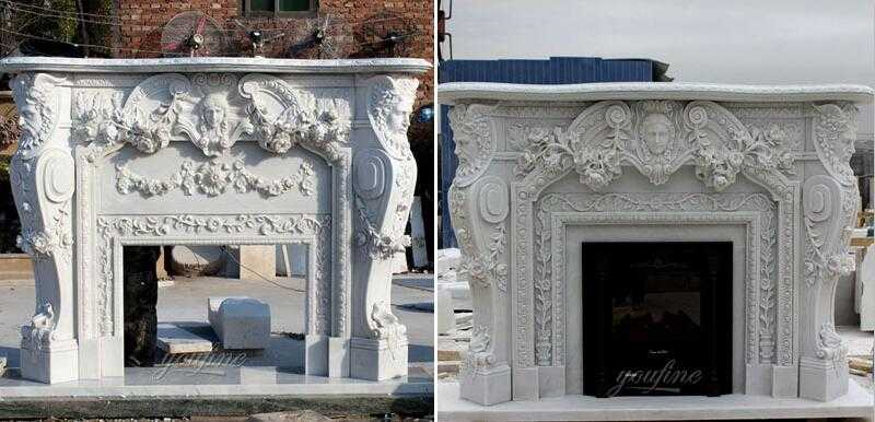 marble fireplace surrounds for sale