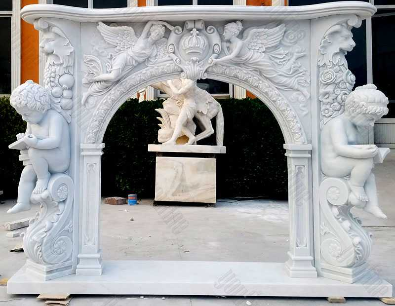 The surrounding marble fire was originally adopted as a sign of wealth and status in the eighteenth century. Since then, marble has provided a durable quality and aesthetic potential, but it is a very popular material that sculptures around the fire.