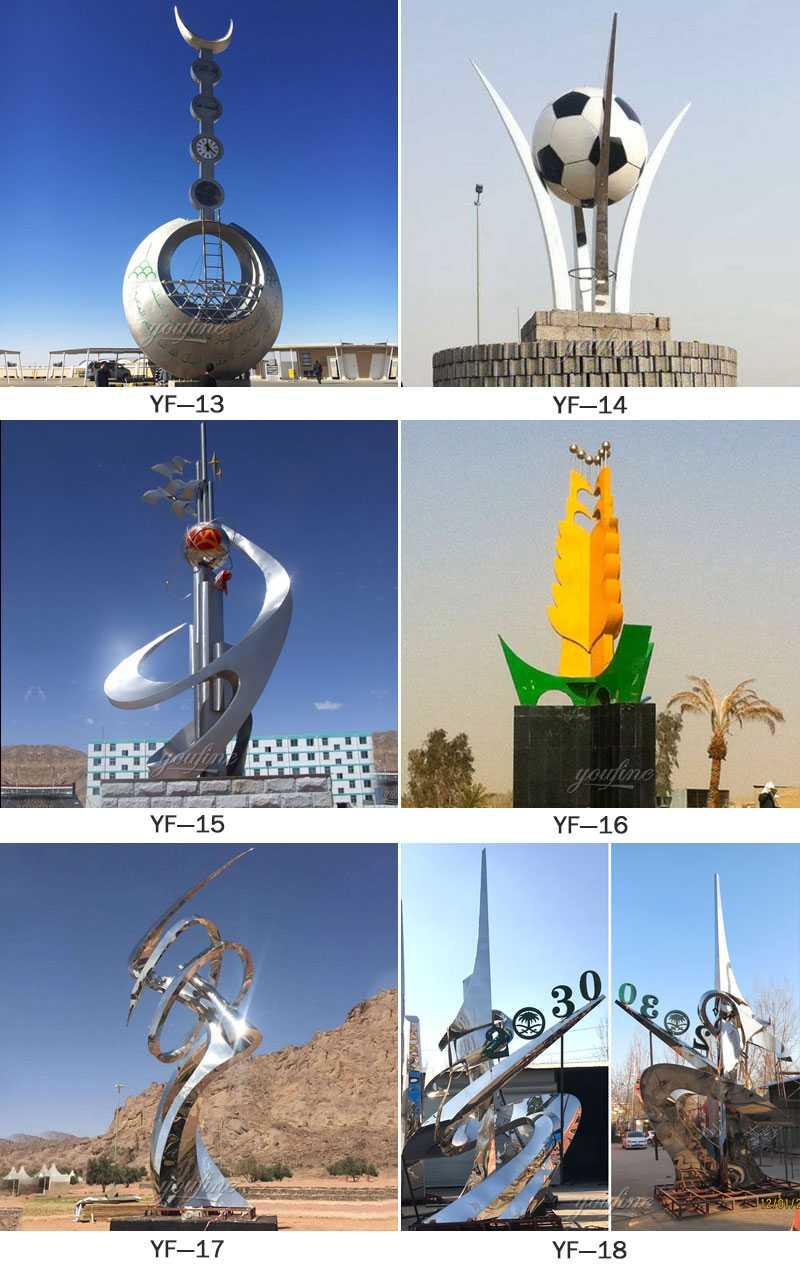 outdoor sculpture for sale metal UAE