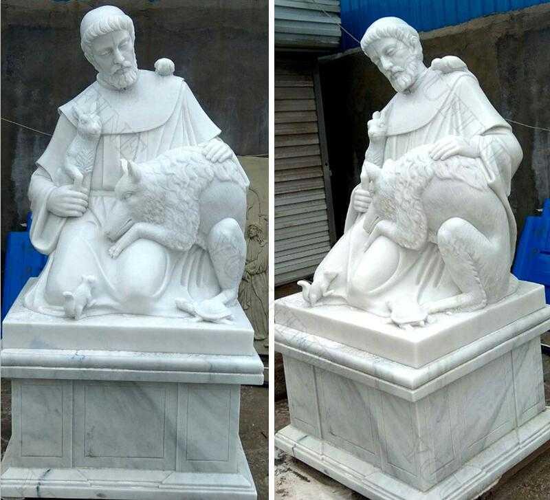 saint garden statues large st francis garden statue