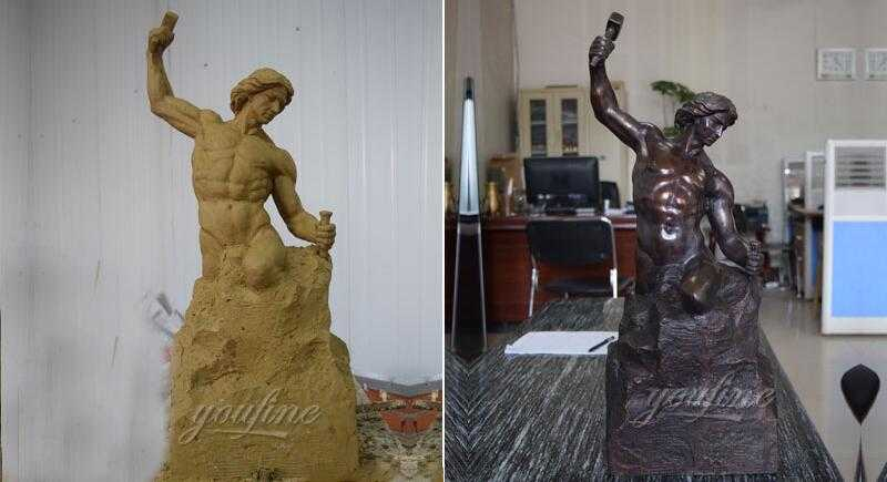 self made man statue replica for sale