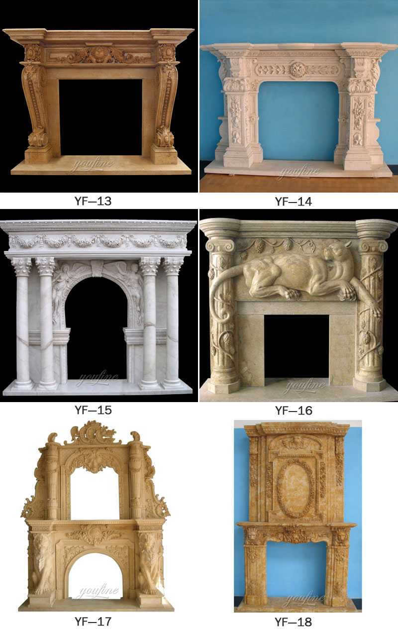 stone fireplace outdoor for sale