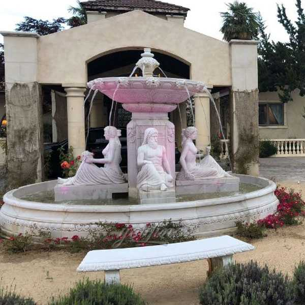 tired water white marble fountains for our american friend for sale