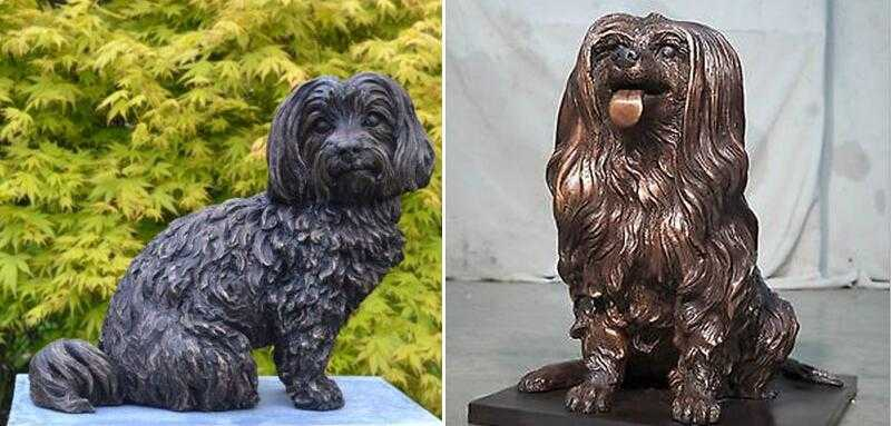 custom maltese dog statues for sale
