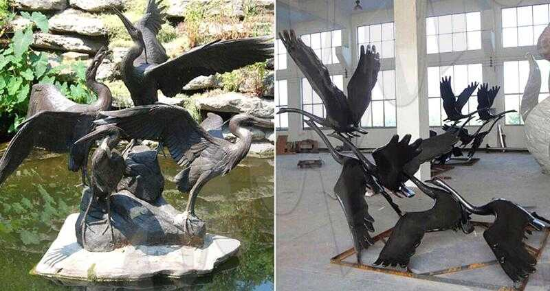 decorative garden cranes for sale