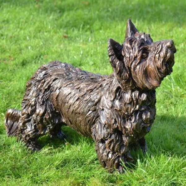 maltese dog statues lawn ornaments