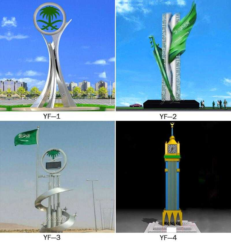 stainless steel sculpture manufacturers UAE