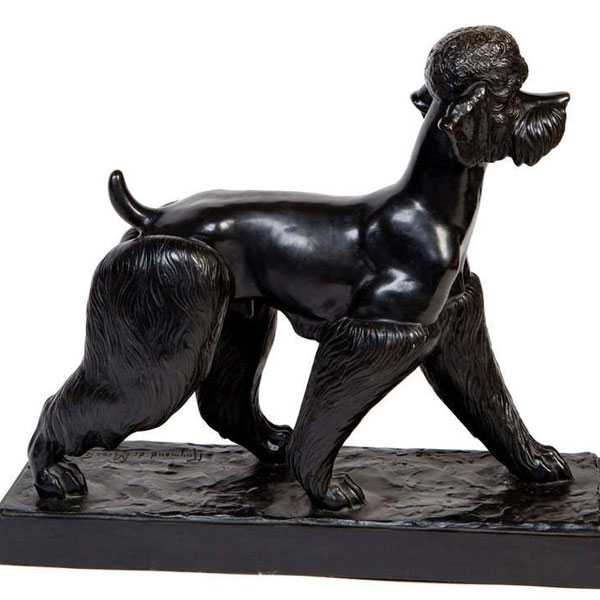 standard poodle garden statues for sale