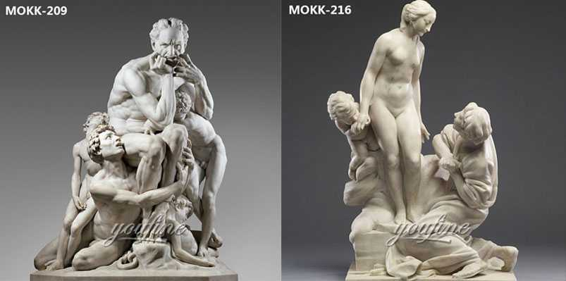 Customized Pure Hand Carved Famous Marble Antique Art Statue for Garden Decoration
