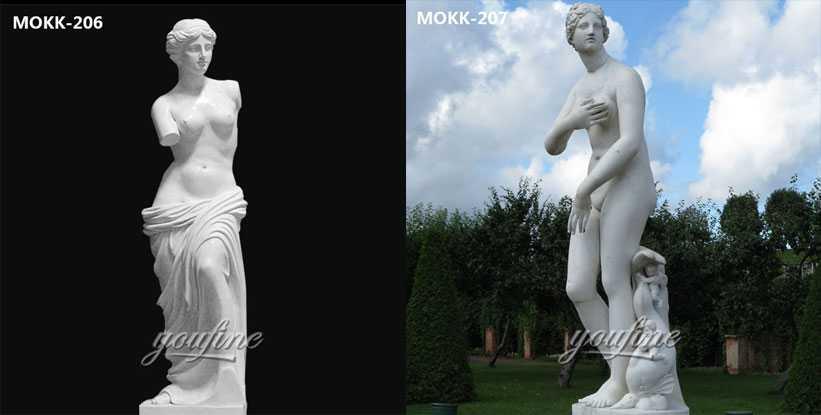 famous marble Venus statue