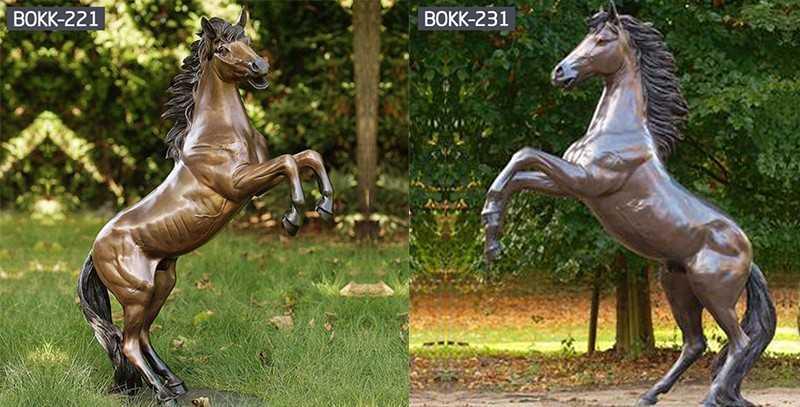 Do you know the design of bronze hoof horse sculptureBOKK-221?