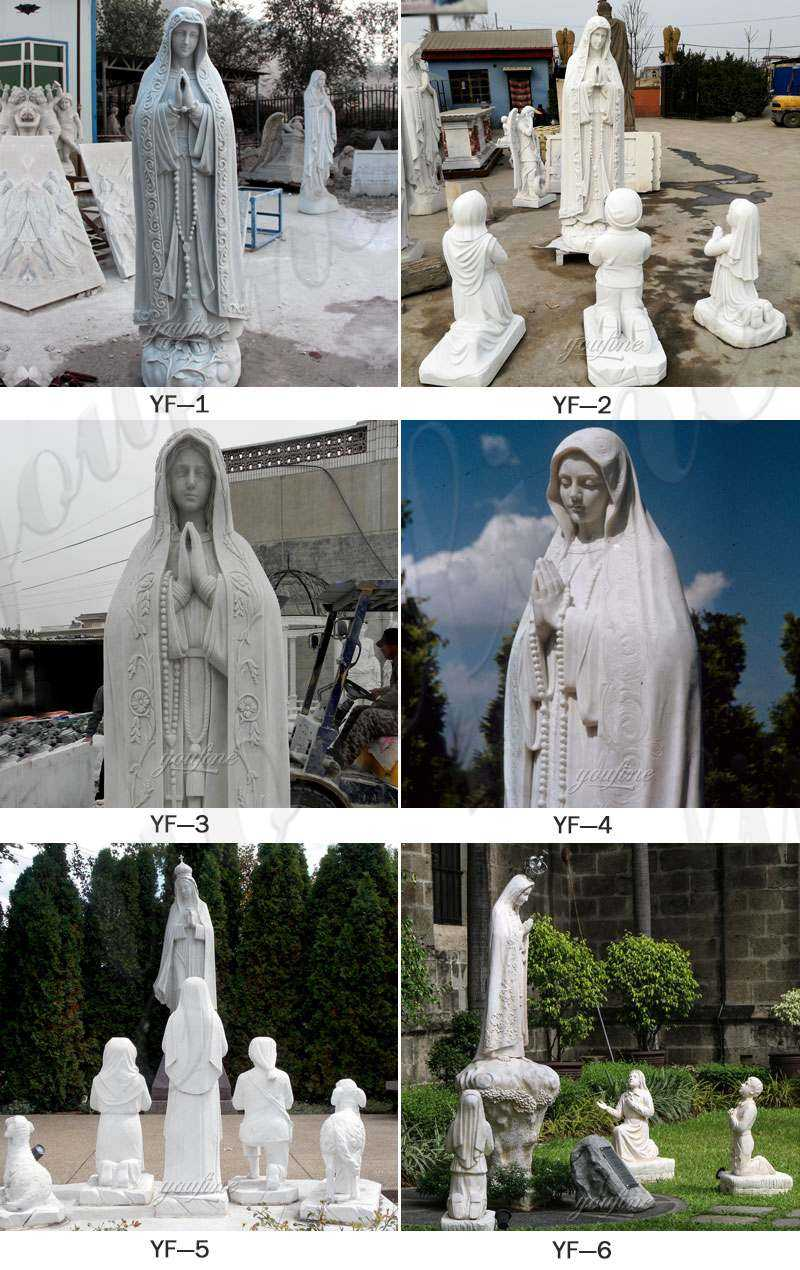 CHS-731 our lady of marble virgin mary statue for sale