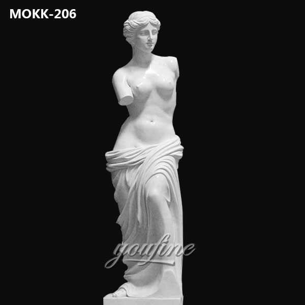 Famous Art Sculptures Life Size Marble Venus Statue for Sale MOKK-206