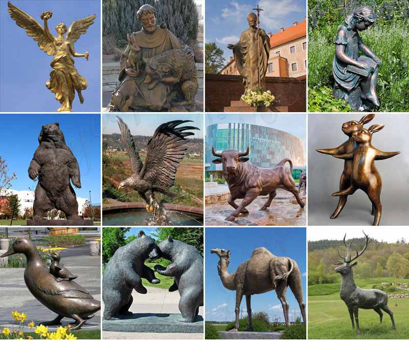 High Quality Mexico Bronze Angel Statue