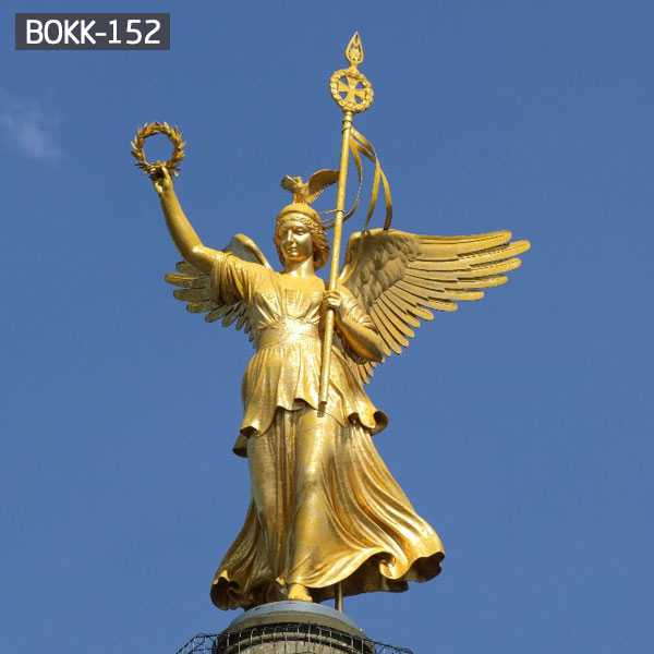Large Bronze Outdoor Angel Statue Sculpture for Sale BOKK-152