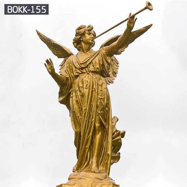 Do You Know the Production Process of Bronze Angels Statue? BOKK-155