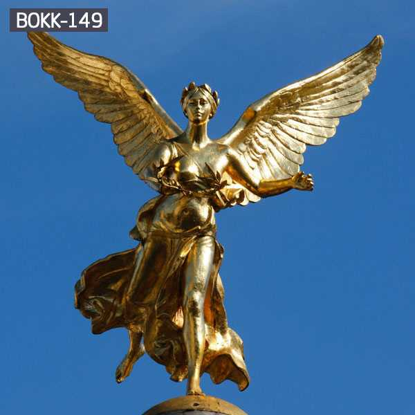 Large metal Bronze sculpture Outdoor garden decorate Angel Statue for Sale BOKK-149